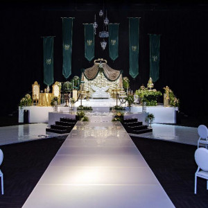 Event Styling - The Emerald Bride 001