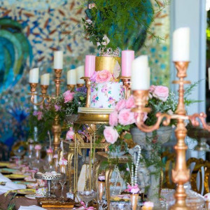 Event Styling - Grand High Tea at The Beverly Hills Hotel 002